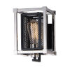 This item: Refine Black and Polished Nickel Six-Inch One-Light Wall Sconce