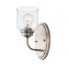 This item: Acadia Satin Nickel One-Light Wall Sconce