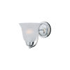This item: Basix Polished Chrome One-Light Wall Sconce