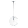 This item: Looking Glass Polished Chrome 15-Inch One-Light Mini Pendant