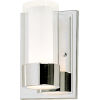 This item: Silo Polished Chrome Five-Inch LED Wall Sconce