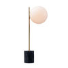 This item: Vesper Satin Brass and Black Nine-Inch One-Light Table Lamp