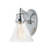 This item: Seafarer Polished Chrome Six-Inch One-Light Wall Sconce