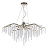 This item: Willow Silver Gold 45-Inch Eight-Light Chandelier