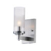 This item: Crescendo Satin Nickel Four-Inch One-Light Wall Sconce