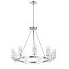 This item: Crescendo Satin Nickel 35-Inch Nine-Light Adjustable Chandelier