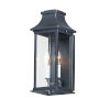 This item: Vicksburg Black 7-Inch Two-Light Outdoor Wall Mount