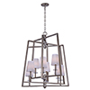 This item: Swing Platinum Dusk 30-Inch Eight-Light Chandelier