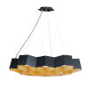 This item: Honeycomb Black and Gold 10-Light LED Pendant