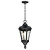 This item: Sentry Black One-Light Adjustable Outdoor Hanging Mini Pendant