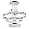 This item: Icycle Polished Chrome 32-Inch LED Adjustable Chandelier