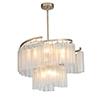 This item: Victoria Golden Silver Nine-Light Adjustable Pendant