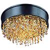 This item: Mystic Bronze 16-Inch LED 11-Light Flush Mount