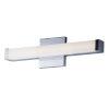 This item: Spec Vanity Polished Chrome 18-Inch LED Bath Bar