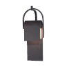 This item: Laredo Rustic Forge Eight-Inch LED Outdoor Wall Sconce