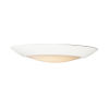 This item: Diverse White 8-Inch 2700K LED Flush Mount Title 24