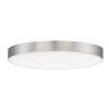 This item: Trim Satin Nickel One-Light ADA LED Flush Mount with 3000K