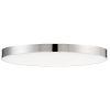 This item: Trim Polished Chrome One-Light ADA LED Flush Mount with 3000 Kelvin 1450 Lumens