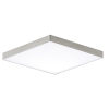 This item: Trim Satin Nickel One-Light 6-Inch ADA LED Flush Mount