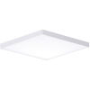 This item: Trim White One-Light ADA LED Flush Mount with Polycarbonate Shade 3000 Kelvin 1280 Lumens
