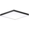 This item: Trim Black One-Light ADA LED Flush Mount with Polycarbonate Shade 3000 Kelvin 1450 Lumens