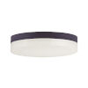 This item: Illuminaire Ii Bronze One-Light LED Flush Mount with 3000 Kelvin 1270 Lumens