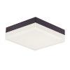 This item: Illuminaire Ii Bronze One-Light LED Flush Mount with Acrylic Shade 3000 Kelvin 1080 Lumens