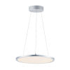 This item: Wafer Satin Nickel 15-Inch LED Square Pendant