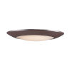 This item: Diverse Bronze 11-Inch LED Flush Mount