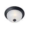 This item: Essentials 584x Black One-Light Flush Mount