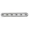 This item: Essentials - 712X 36-Inch Polished Chrome Six-Light Bath Vanity