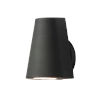 This item: Mini Black Five-Inch LED Outdoor Wall Sconce