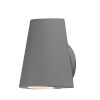 This item: Mini Silver Five-Inch LED Outdoor Wall Sconce