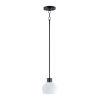 This item: Coraline Black One-Light Mini Pendant