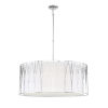 This item: Regal Terrace Polished Nickel 32-Inch Pendant