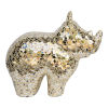 This item: Gold Ecomix Rhino Wall Sculpture