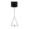 This item: Newman Black One Light LED Floor Lamp