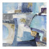 This item: Santorini  Multicolor 40H x 40W-Inch Wall Decor Painting