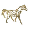 This item: Golden Horse Wall Sculpture