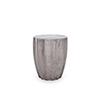 This item: Lucius Fiber stone Stool