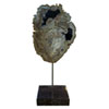 This item: Petrified Wood Sculpture on Black Marble Base Figurine