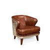 This item: Preston Dark Brown Club Chair