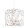 This item: Brenton Cove Gold Mist Gold Leaf Six-Light Pendant