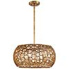 This item: Abbondanza Halcyon Gold 20-Inch Six-Light Pendant