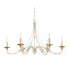 This item: Westchester County Farm House White Six-Light Chandelier