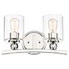 This item: Studio 5 Polished Nickel Two-Light Bath Vanity