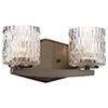 This item: Maginot LED Harvard Court Bronze Two-Light LED Bath Vanity