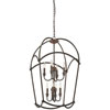 This item: Jupiters Canopy Harvard Court Bronze Eight-Light Pendant