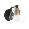 This item: Keyport Sand Coal And Natural Brushed Bronze One-Light Bath Vanity