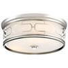 This item: Polished Nickel 16-Inch LED Flush Mount
